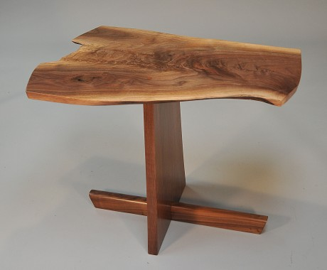 Highly figured black walnut and curly walnut (ET3)